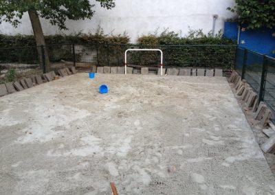 Speelveldje aanleggen
